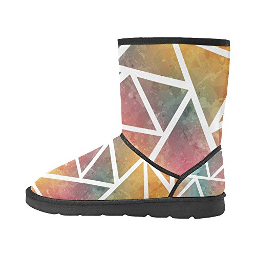 Boots Color15 5 Women For 5 Print Snow Classic Size Colored 12 Floral InterestPrint Graphic vwOqHEFgng