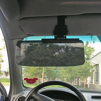 Amazon Com Car Van Shade Sun Visor Extension Glare Mirror Window