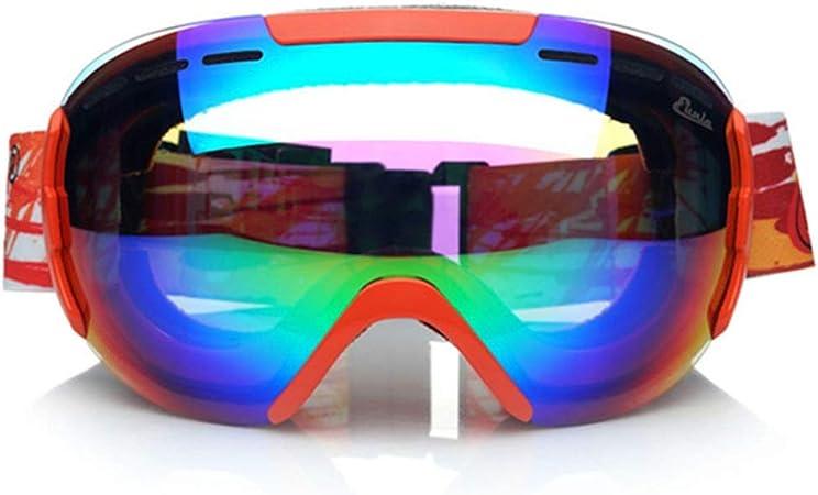 Gafas de esquí Gafas de esquí: PC, antivaho doble, protección ...