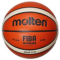 molten Basketball, Orange/Ivory, 7, BGG7X-DBB