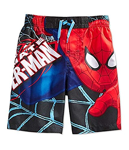 Fashion Marvel Comics Spider-Man Swim Trunk - Small
