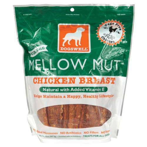 Dogswell Mellow Mut for Dogs, Chicken Breast, 32-Ounce Pouches, My Pet Supplies