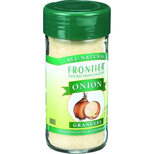 Onion, White Granules , 2.4 oz ( Multi-Pack) by Frontier Herb