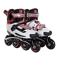 Ferrari Slalom K8 Skate, White, Size 33-35