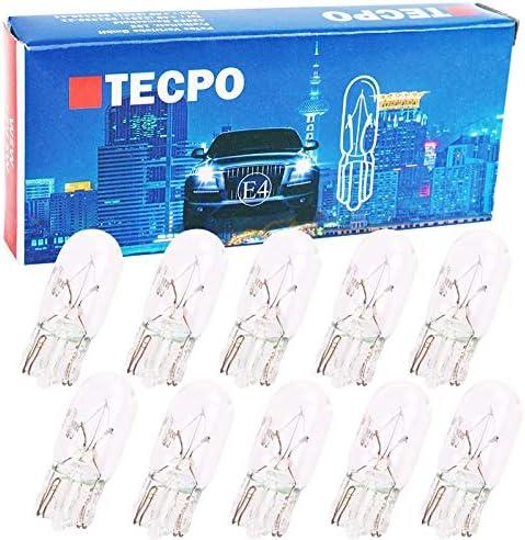 10x Glassockel Glühbirnen W5w Standlicht Kennzeichenlich Autolampe T10 12v 5w Auto