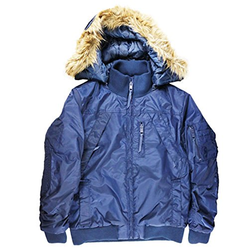 Jordan Craig Legacy Detachable Hood Jacket Navy by Jordan Craig