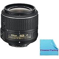 Nikon 18-55mm f/3.5-5.6G VR II AF-S DX NIKKOR Zoom Lens (White Box) Lens For Nikon D7100, D7000, D5300, D5200, D5100, D5000, D3300, D3200, D3100, D3000, D300, D300s Digital SLR Cameras