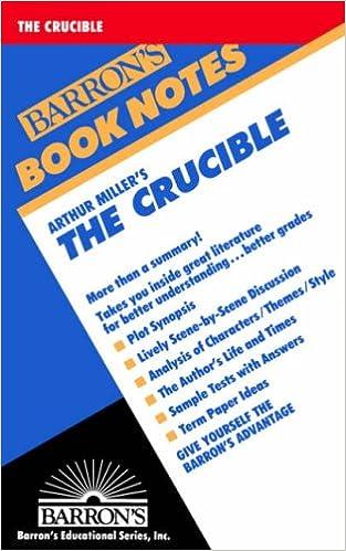 Arthur millers the crucible calkin siobhain bly 9780764191633 arthur millers the crucible fandeluxe Image collections