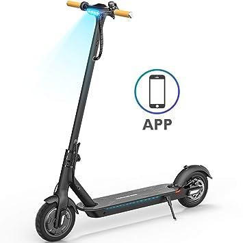 Amazon.com: TOMOLOO Hoverboard con altavoz Bluetooth LED ...
