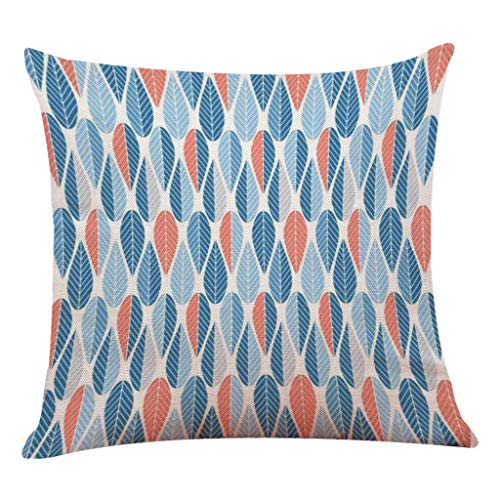 (SportHome Polka Dot Pattern Pillowcase Cotton Linen Sofa Cushion Cover Home Car Seat Pillowcover)