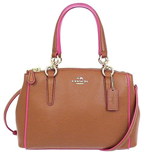 Coach Christie Crossgrain Leather Handbag