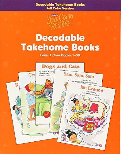 Open Court Decodable Books Take Home