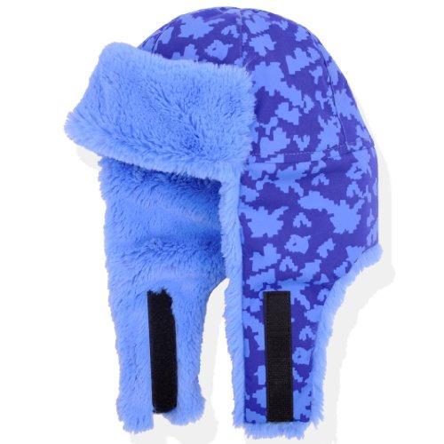 Molehill Kid's Cold Weather Hat, Digital Blue, Small (less than 1 yr.) ()