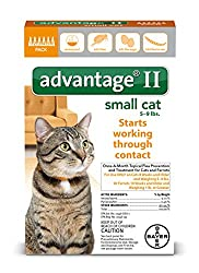 Bayer Advantage Ii Flea Treatment For Small Cats, 5-9 Lb, 6 Doses