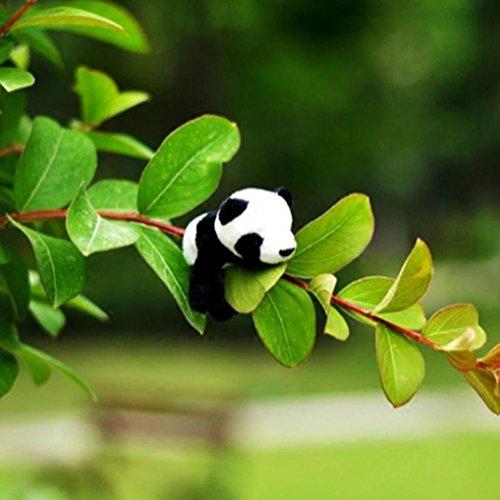 DEESEE(TM) New1Pc Cute Soft Plush Panda Fridge Magnet Refrigerator Sticker Gift Souvenir Decor by DEESEE(TM)_Home (Image #2)