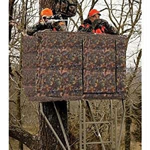 Amazon Com Camo Blind For 2 Man Ladder Tree Stand