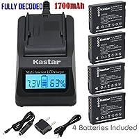 Kastar Fast Charger & Battery X2 for Panasonic DMW-BCG10 Lumix DMC-ZS19 DMC-ZS8 DMC-ZS10 DMC-ZS20 DMC-ZS7 DMC-ZS3 DMC-ZS15 ZS5 ZS1 DMC-ZS6 DMC-TZ20 DMC-TZ7 DMC-TZ30 DMC-ZR1 DMC-TZ10 DMC-ZR3 DMC-TZ19