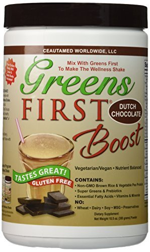 Greens First Boost, Dutch Chocolate - 2-Pack (2) by Greens First