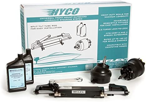 Uflex Hytech 1.0 Hytech 1.0 Hydraulic Outboard Steering Kit
