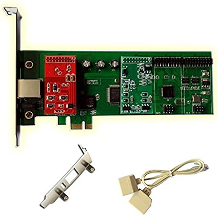 Amazon com: FXS FXO Card with 1 FXO+1 FXS Module,Low Profile For 2U
