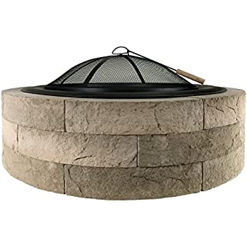 propane fire pit kit parts outdoor distinctions lightweight concrete kits allegheny lowes