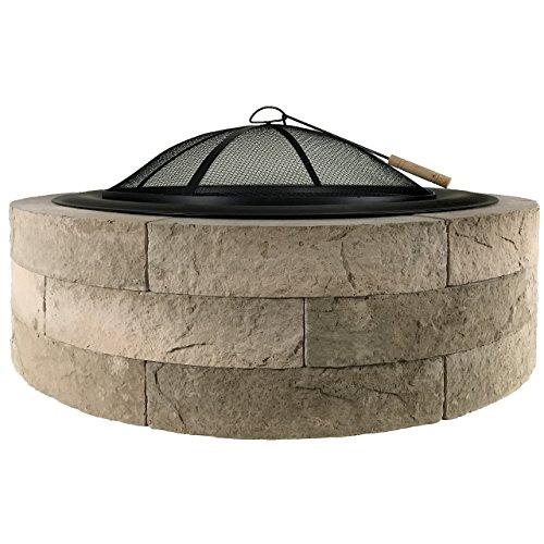 Outdoor Distinctions Lightweight Concrete Fire Pit Kit