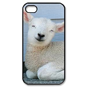 ALICASE Diy Customized hard Case Sheep For ipod touch 4 [Pattern-1]