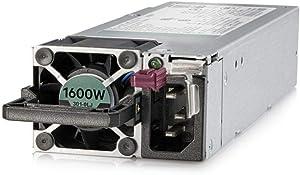 HP Enterprise 1600-watt Flex-Slot Platinum Hot-Plug Power Supply, 830272-B21 (Renewed)