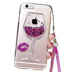 Cute Case Compatible Wine Glass Designe for iPhone 6