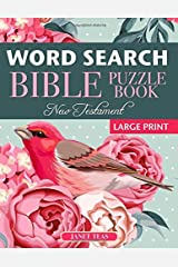 New Testament Bible Word Search Book: 70 Large Print Puzzles Paperback