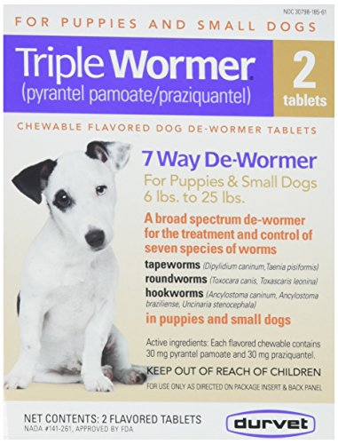 Durmet Triple Wormer medicine for dogs