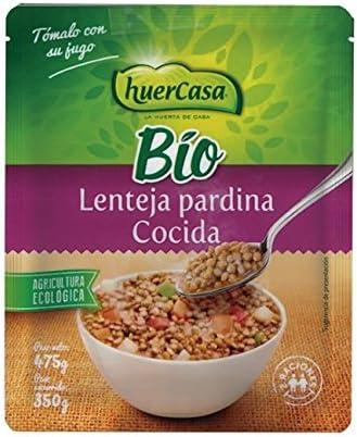 LENTEJA PARDINA COCIDA BIO, 475 g: Amazon.es: Salud y cuidado ...