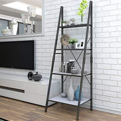 Cheap  Lifewit Ladder Shelf Bookshelf 4 Tiers Bookcase,Plant Stand Storage Shelf for Garden,Storage..