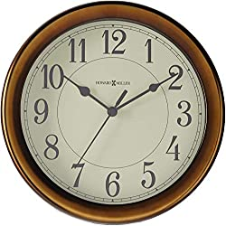 Howard Miller Virgo Wall Clock 625-381 - Modern & Round with Quartz Movement