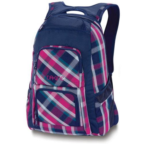 Dakine Girls Backpack (Dakine Women's Jewel Backpack, Navy/Vivienne Plaid, 26L)