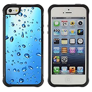 fashion Case Blue Water Drop Apple Iphone 4s