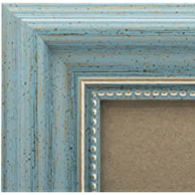 5x7 Picture Frame Antique Teal - Mount Desktop Display, Frames by EcoHome
