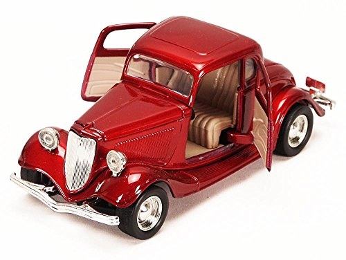 1934 Ford Coupe 1/24 Red