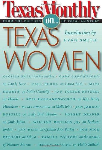 Download Texas Monthly On . . .: Texas Women pdf epub