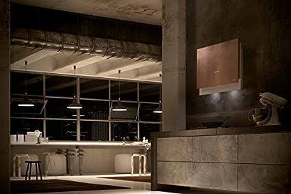Faber – Campana de pared Talika acabado hormigón de 80 cm: Amazon.es: Hogar