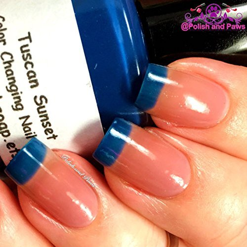 Color Changing Thermal Nail Polish - Ombre - \