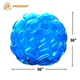 "Bumper Balls, PACKGOUT Inflatable Body Bubble Ball Sumo Bumper Bopper for Kids & Adults 36"" – 2 Balls Included"