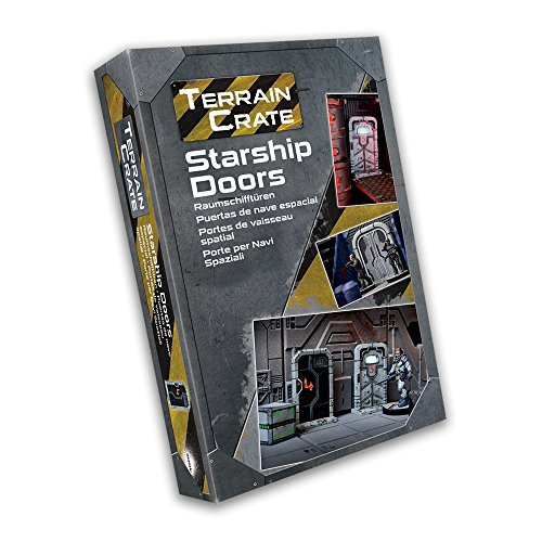 Mantic Games: Terrain Crate Starship Doors