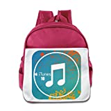 XJBD Custom Funny ITunes Kids Children Shoulders Bag For 1-6 Years Old Pink offers