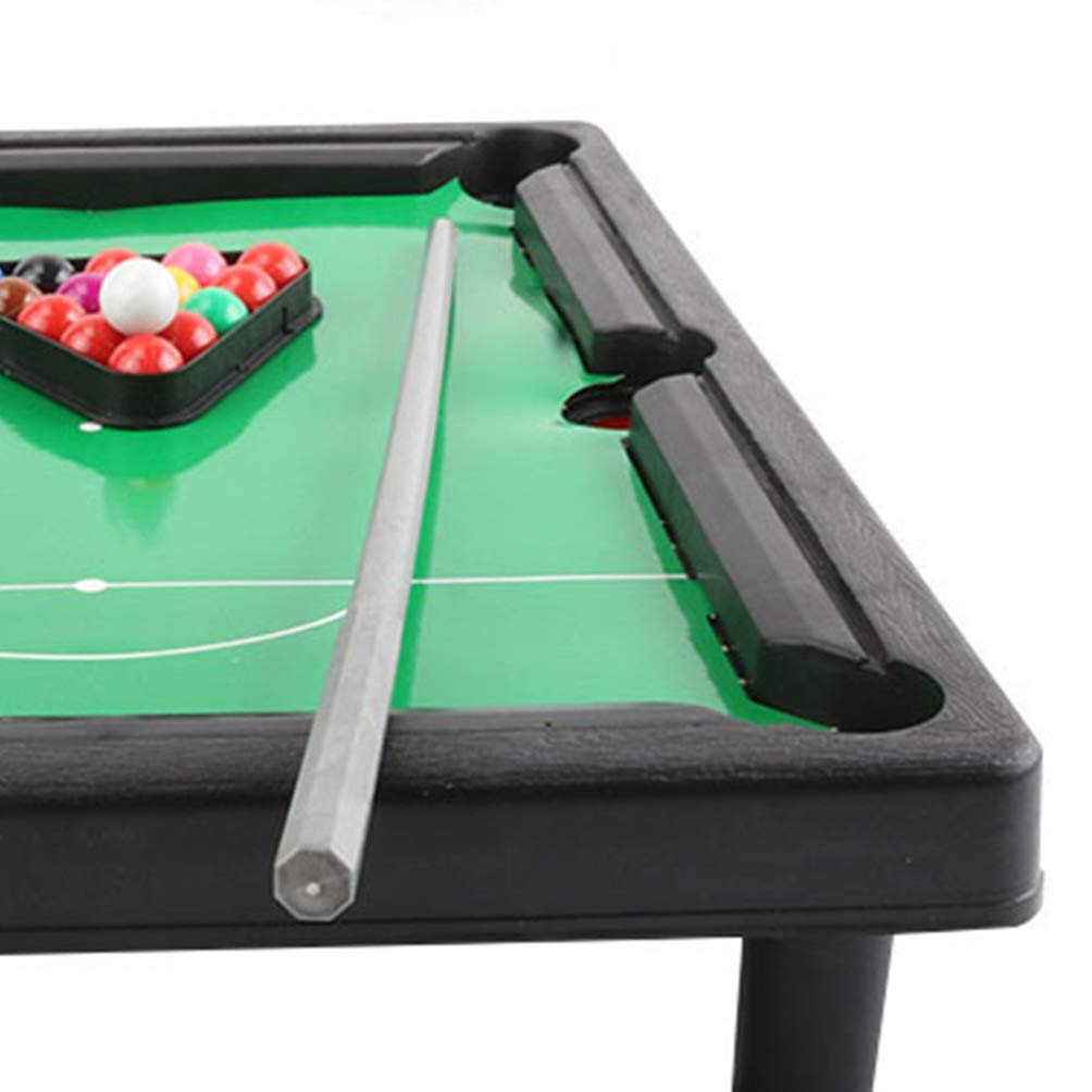 TOYANDONA Mini Tabletop Pool Set American Indoor Sports Snooker Toys Billiard Game Gifts for Children Kids Boys Family