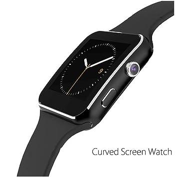 Reloj inteligente, tufen® curvado Ultra HD pantalla táctil ...