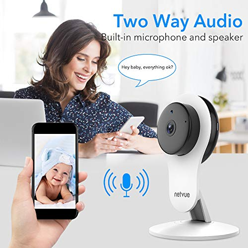 Home Security Camera, 1080P WiFi Indoor Home Camera with Motion Detection,  IP Camera, 7x24H Cloud Storage, 2 Way Audio, Night Vision, Surveillance