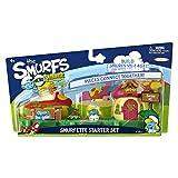 The Smurfs Micro Village Figure Starter Set - Smurfette