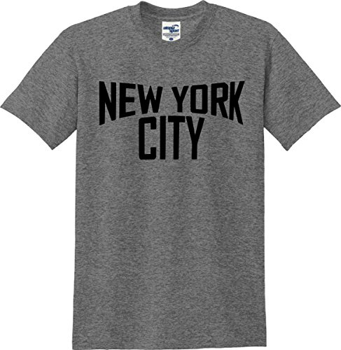 Utopia Sport New York City John Lennon T-Shirt (S-5X) (Medium, Graphite ()