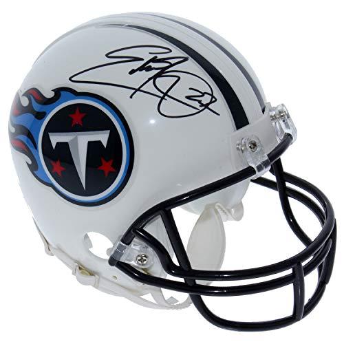 Eddie George Tennessee Titans Autographed Signed Riddell ()